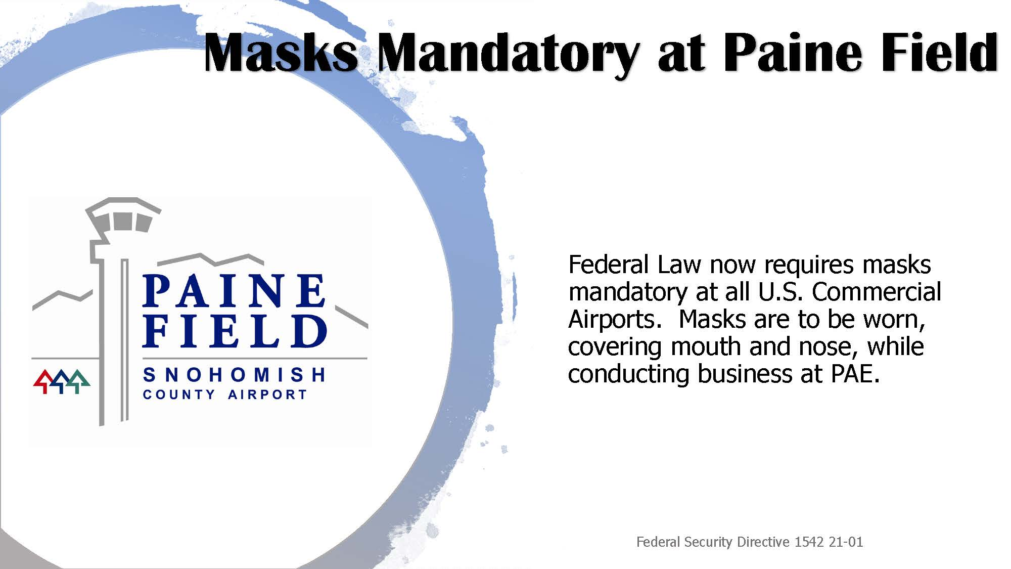 PAE Mask flyer