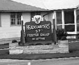 57th Headquarters Sign
